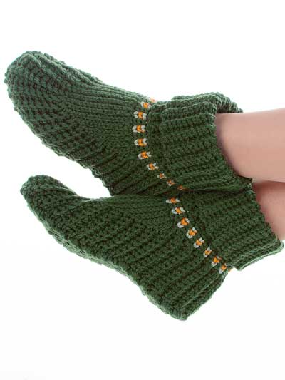 Free Crochet Slipper Patterns images