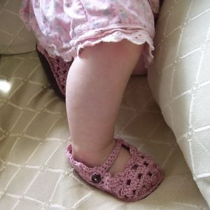 Crochet Baby Slippers Free Pattern