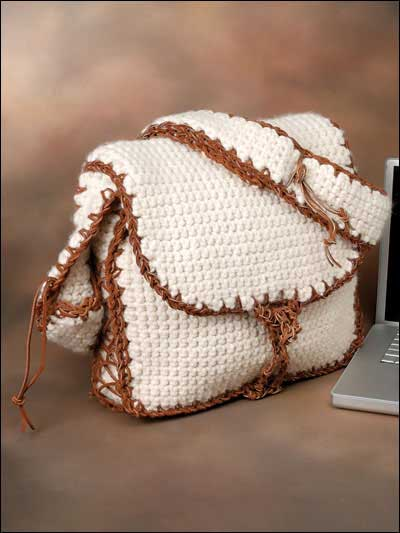 Crochet Shoulder Bag Pattern Free : ... Bag & Purse Patterns : Click here for a List of Patterns Sorted by