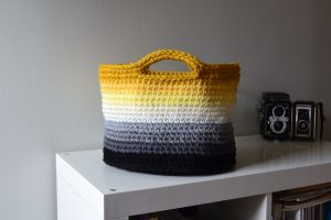 Crochet Basket Pattern Free