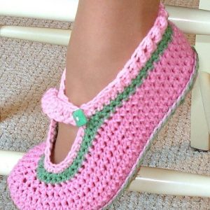 Crochet Children's Slippers