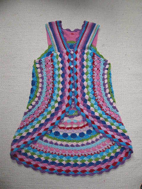 Free Crochet Patterns For Circular Vest : Crochet Circle Vest Pattern images