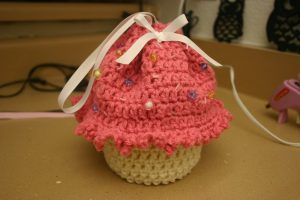 Crochet Cupcake Purse Pattern