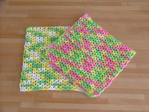Crochet Dishcloth Pattern Tutorial