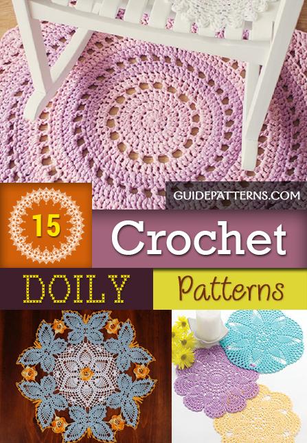 15 Crochet Doily Patterns Guide Patterns