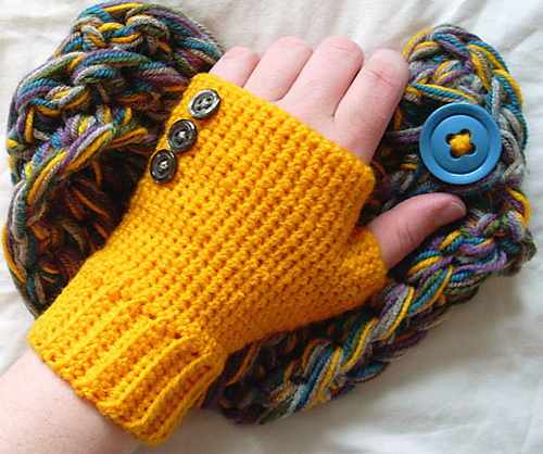 Crochet Fingerless Gloves Mitten Pattern : 17 Fingerless Gloves Crochet Patterns Guide Patterns