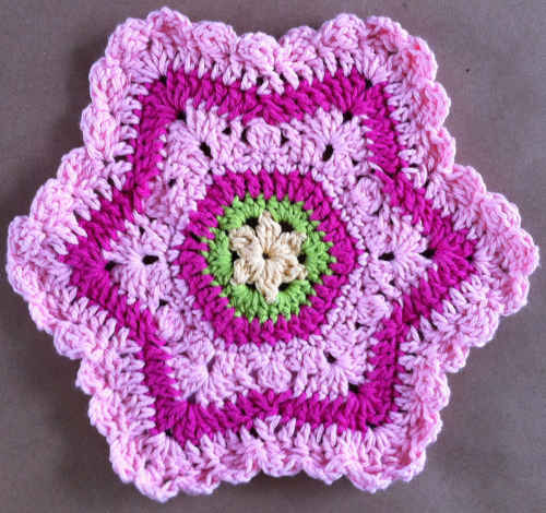 Free Crochet Star Dishcloth Pattern : 20 Crochet Dishcloth Patterns Guide Patterns