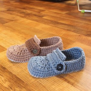 Crochet Men's Slippers Pattern