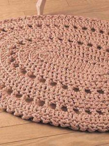 Crochet Oval Rug Pattern