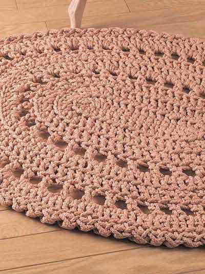 Crochet Circle Rug Pattern - Bing images