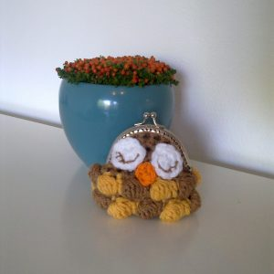Crochet Owl Purse Pattern