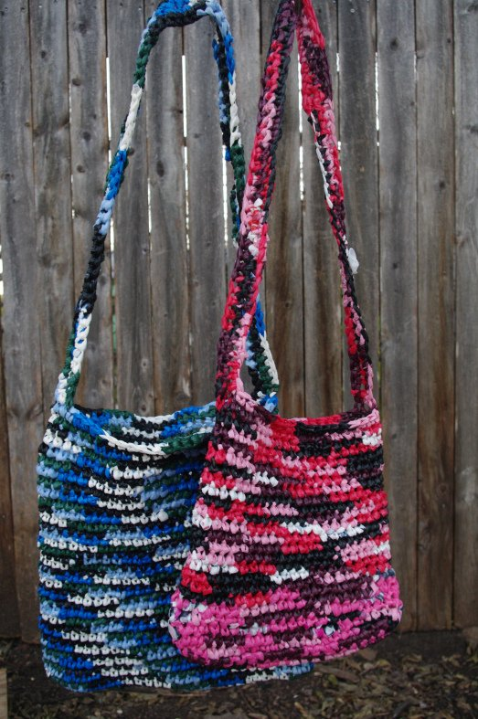 Crocheting With Plastic Bags : Crochet Plastic Bags Pattern