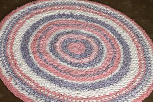 Crochet Rag Rug Tutorial