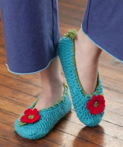 Crochet Slipper Pattern Free