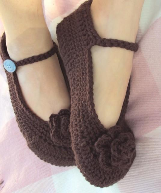 Crochet Slippers : Crochet Slippers Pattern