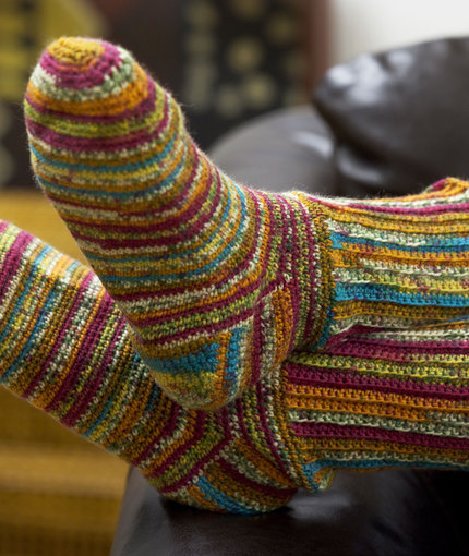 Crochet Sock Pattern : Crochet Sock Pattern Free