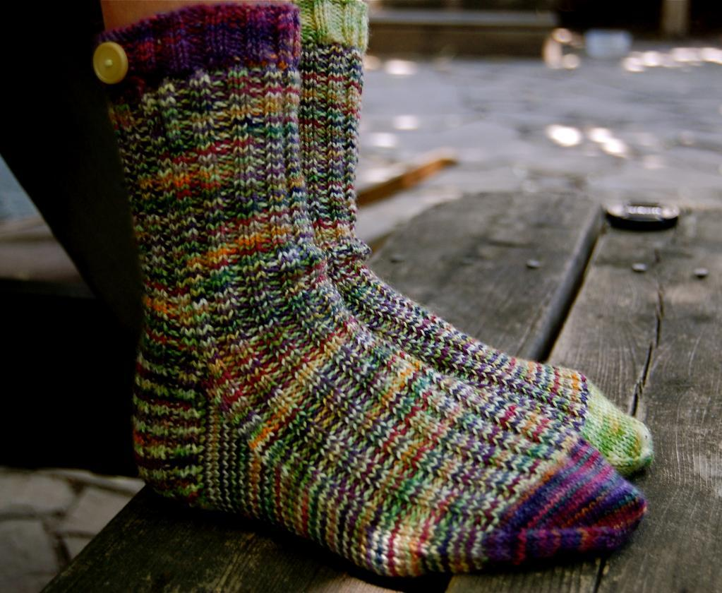 Crochet Sock Pattern : Crochet Sock Pattern