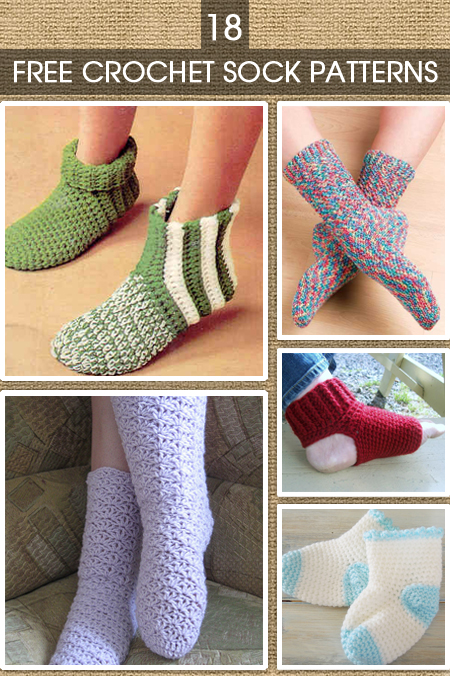 Crochet Sock Patterns