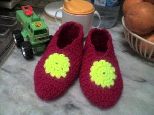Crochet Toddler Slippers Free Pattern