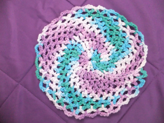 Crocheting Dishcloths : Crocheted Dishcloth Pattern
