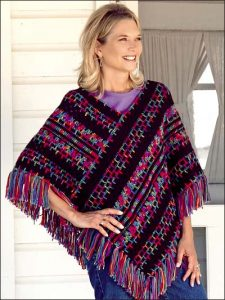 Crocheted Poncho Pattern