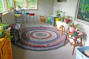 Crocheted Rag Rugs Pattern Directions