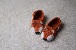 Crocheted Slippers Pattern
