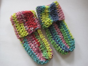 Crocheted Socks Pattern