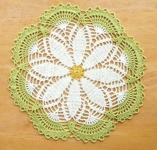 Crochet Doily Patterns Free For Beginners : 15 Crochet Doily Patterns Guide Patterns