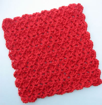 Free Crochet Pattern For Easy Dishcloth : 20 Crochet Dishcloth Patterns Guide Patterns