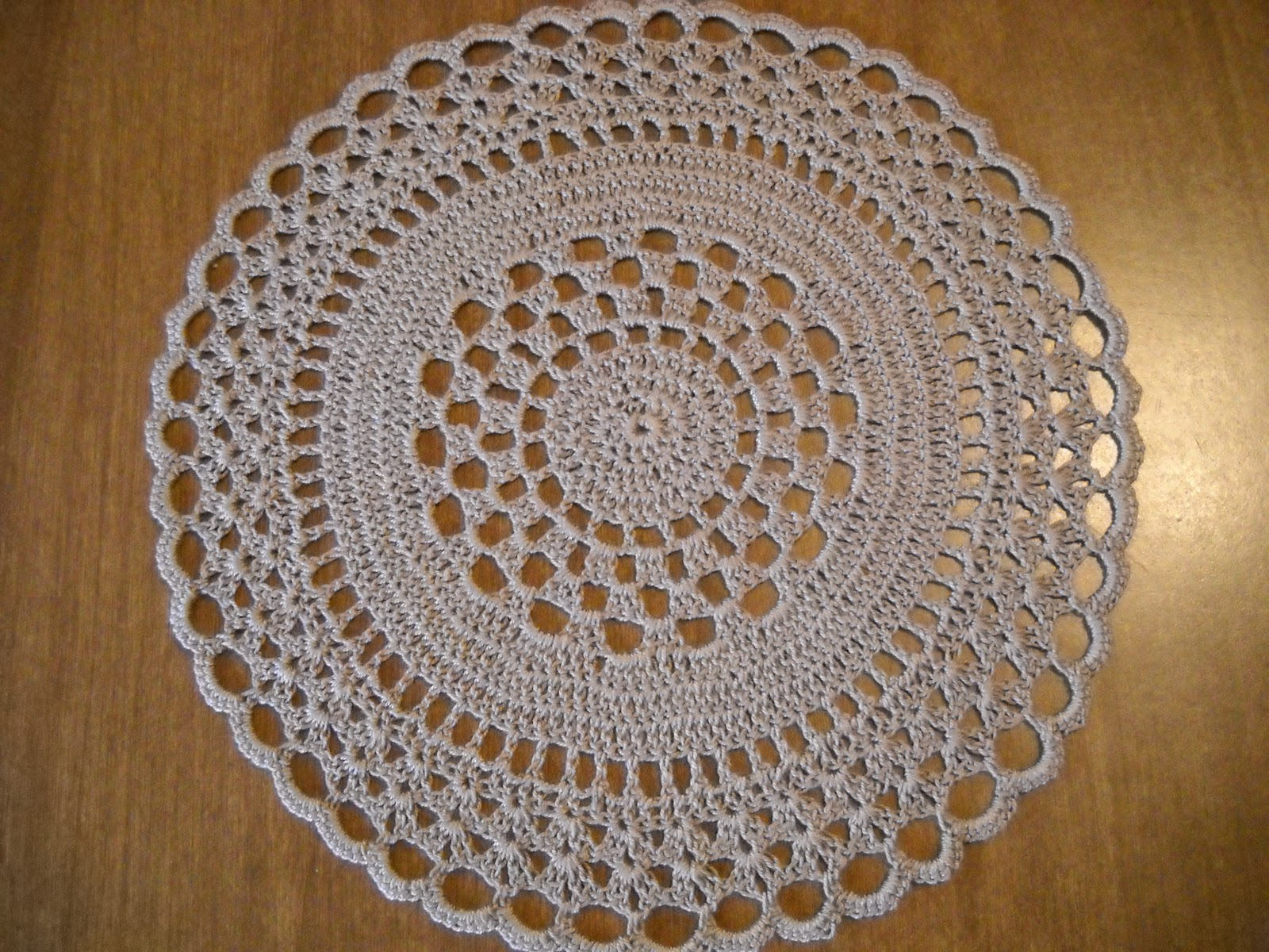 Easy Crochet Round Doily Pattern