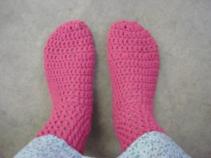 Easy Crochet Socks Pattern