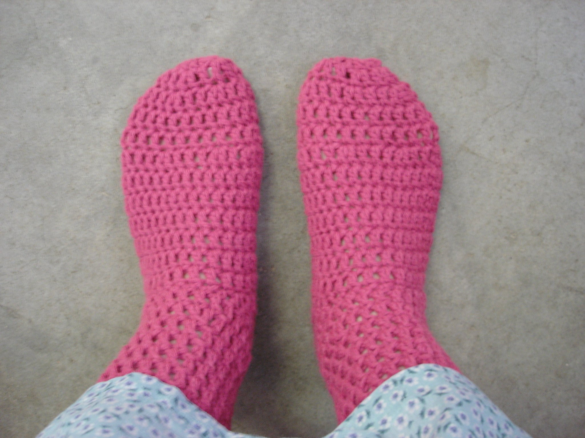 Crocheting Easy Patterns : 18 Crochet Sock Patterns Guide Patterns