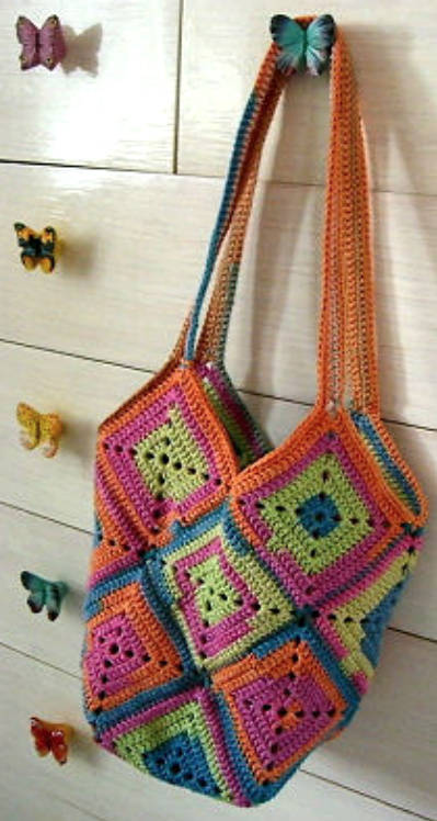 Free Crochet Pattern Bag : 29 Crochet Bag Patterns Guide Patterns