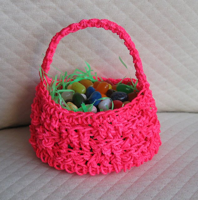 Easter Crochet Patterns For Beginners : 12 Crochet Basket Patterns Guide Patterns