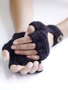 Free Crochet Fingerless Driving Gloves Pattern