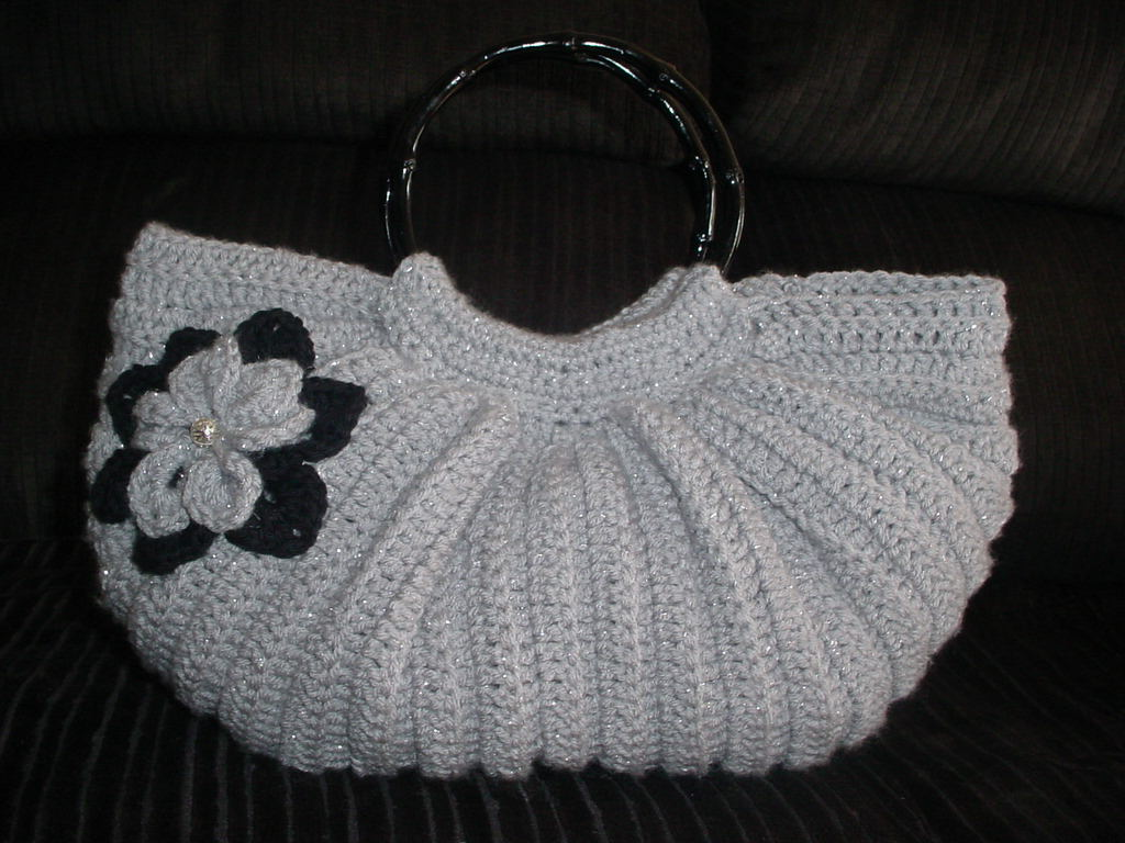 Crochet Bag Pattern : Handbags Crochet Free Patterns Free Crochet Pattern For Bag