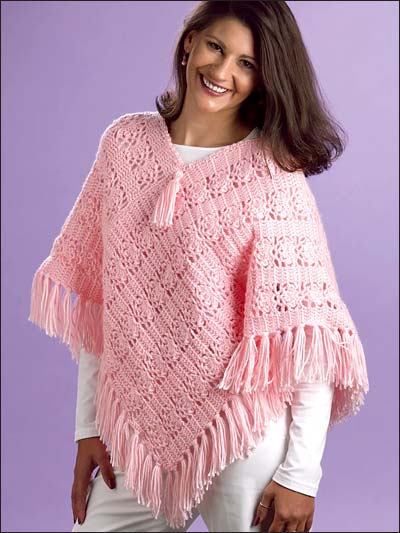Free Pattern Crochet Childs Poncho : 18 Crochet Poncho Patterns Guide Patterns