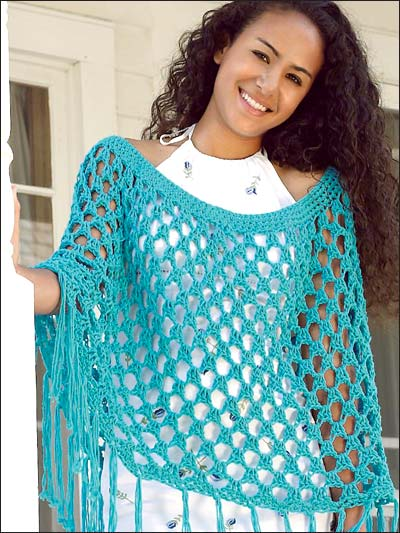 Free Crochet Pattern Ladies Poncho : Poncho To Crochet Cake Ideas and Designs