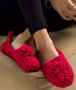 Free Crochet Slipper Pattern Tutorial