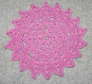 Free Doily Crochet Pattern Instructions