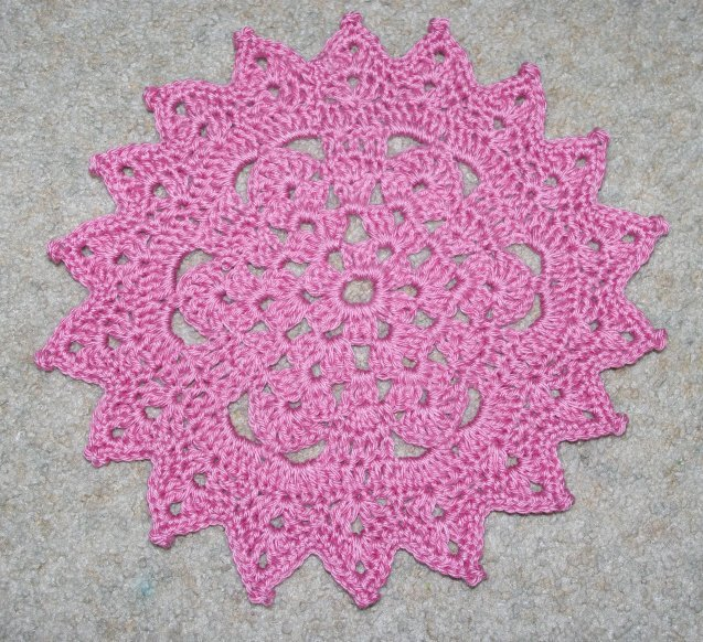 Free Crochet Patterns With Instructions : free crochet doily pattern and chema Free Crochet Patterns & Free ...
