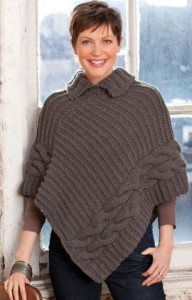 Free Easy Crochet Poncho Pattern