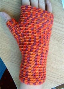 Free Fingerless Glove Crochet Pattern