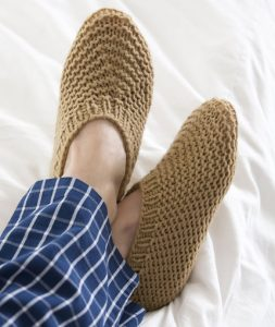 Free Pattern for Crochet Slippers for Men