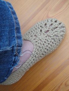 Free Slipper Crochet Pattern