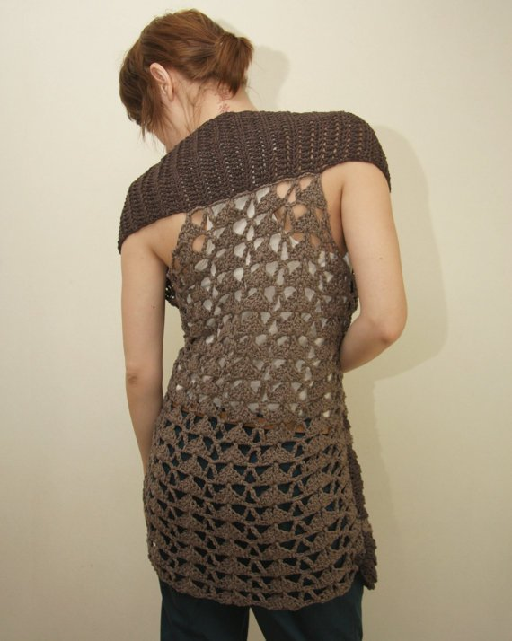 Free Crochet Patterns For Long Vests : Pics Photos - Long Vest Patterns Free Patterns Lace Cable ...