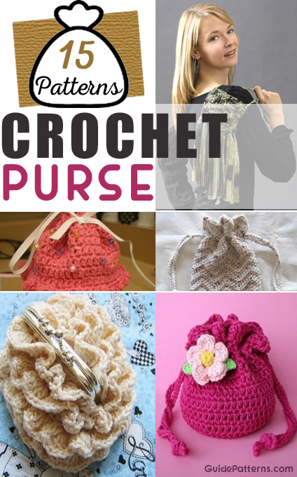 Pretty Crochet Purses