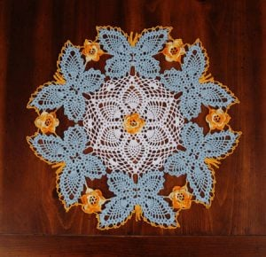Thread Crochet Doily Patterns