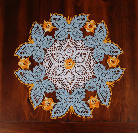 Cotton Crochet Patterns : free crochet doily pattern and chema Free Crochet Patterns & Free ...